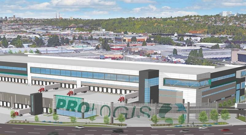 Prologis Seattle project takes warehousing to the next level